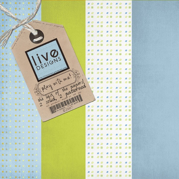 LivEdesigns PlayWithMe Paper Pack 5