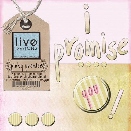 LivEdesigns Pinky Promise Set 3