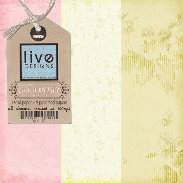 LivEdesigns Pinky Promise PaperPack1