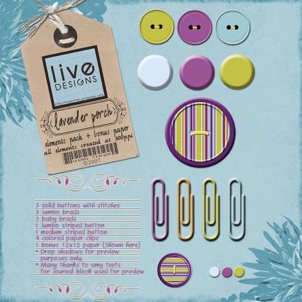 LiveDesigns Lavender PorchElements1