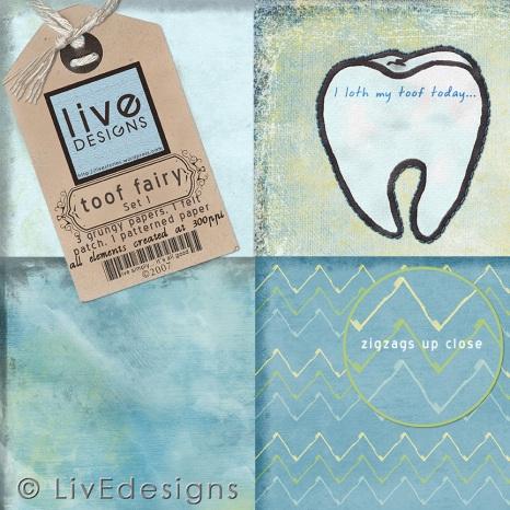 LivEdesigns Toof FairySet1