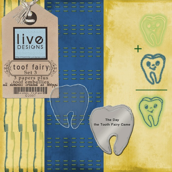 LivEdesigns Toof Fairy Set 3 Preview