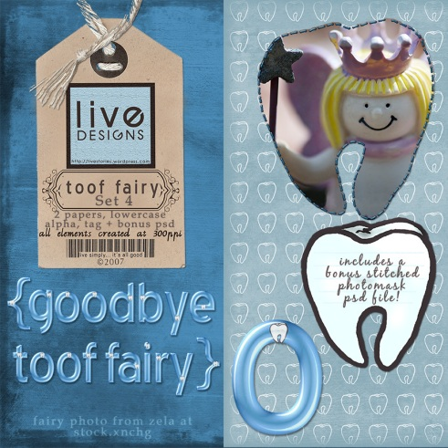 LivEdesigns Toof Fairy Set 4 Preview