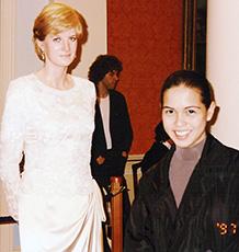 Diana and Me…hehehe