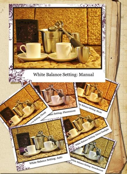 Manual WhiteBalance