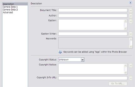 File Info DialogBox
