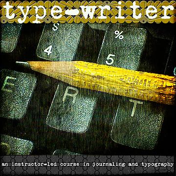 Type+Writer at www.jessicasprague.com