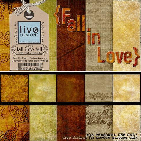 LivEdesigns - Fall into Fall Freebie - Set 2