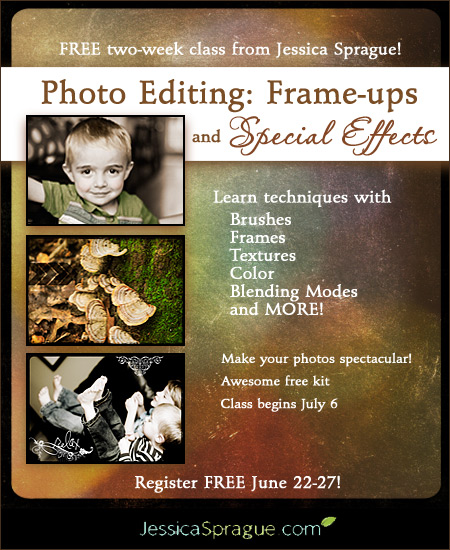 Free Photo-Editing Class, Fun Find & Freebie!