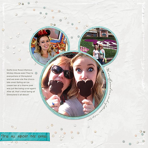 This awesome layout was created by Jana Holden.