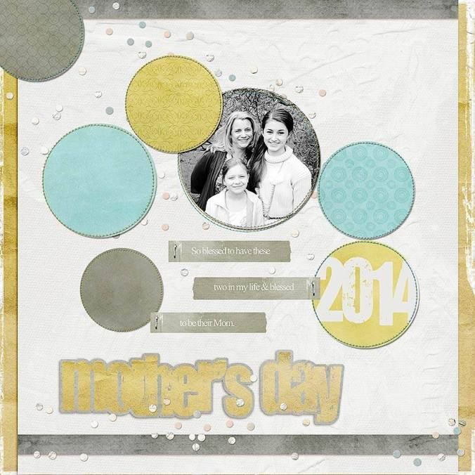 This awesome layout was created by Lisa Breuer.